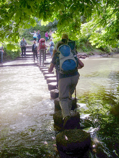 Stepping stones, Mole River